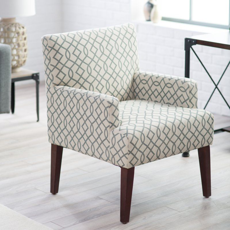 Belham Living Geo Arm Chair Accent Chairs At Hayneedle Grey