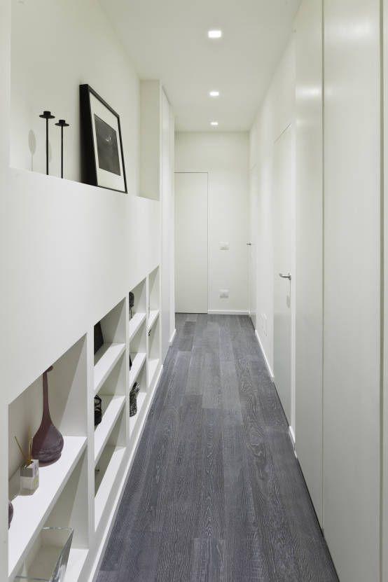 Faretti led incasso cartongesso corridoio cerca con google home sweet home pinterest - Lamare parquet senza spostare mobili ...