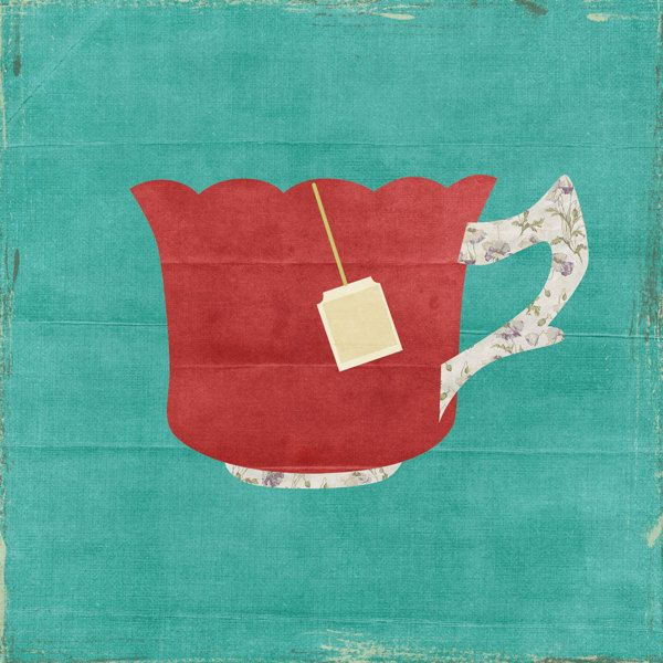 tea by Iya Georgieva, via Behance