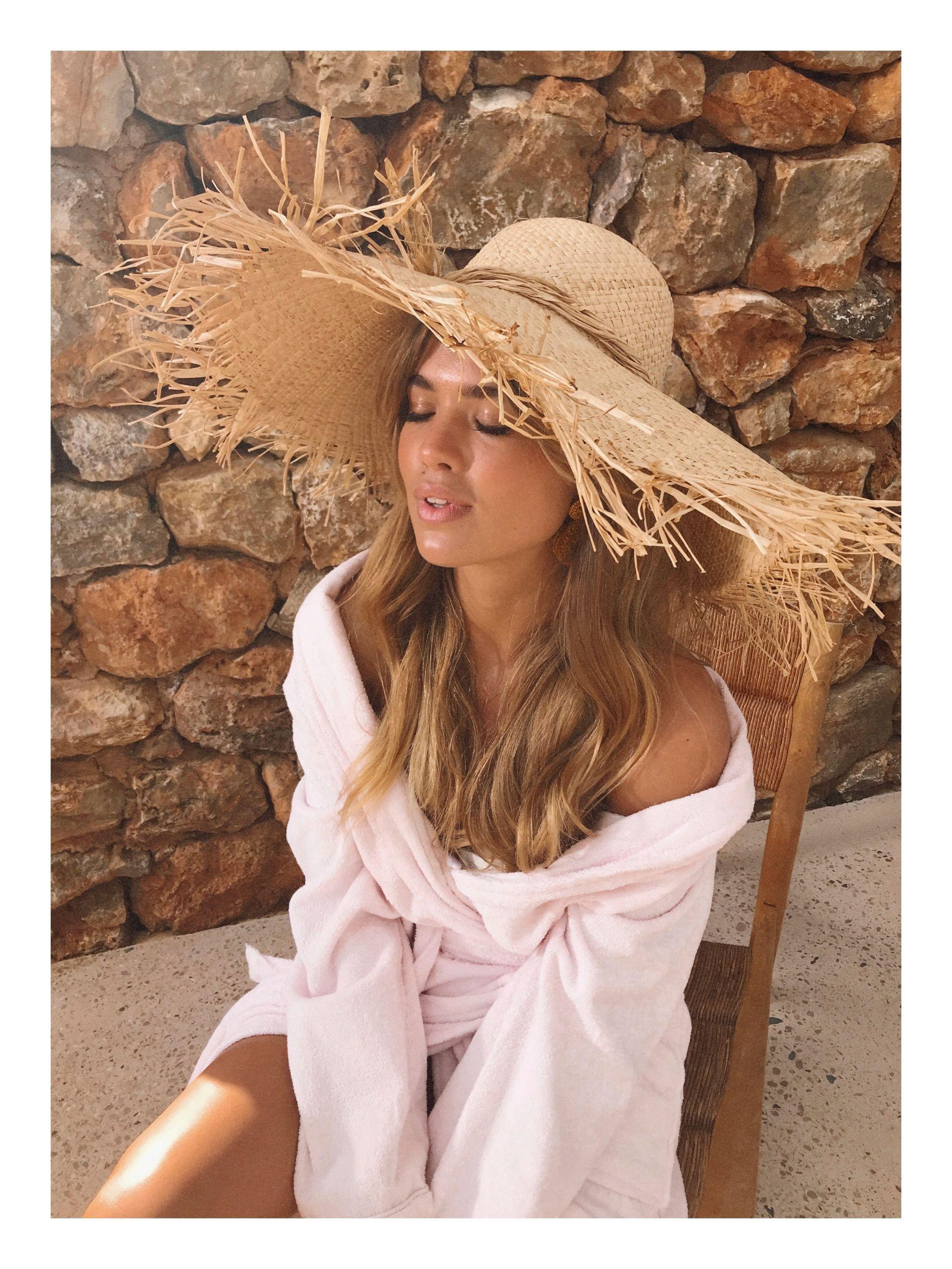 Бохо стиль шляпа фото