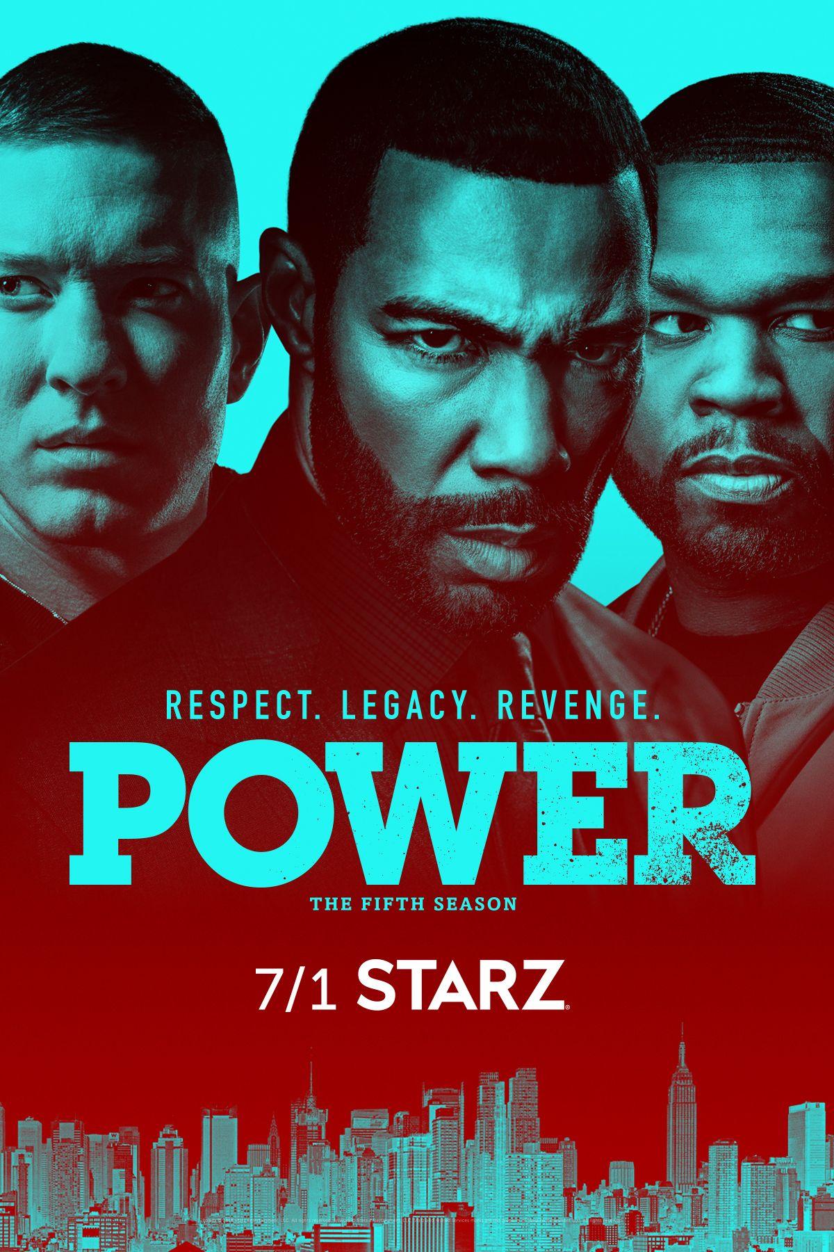 Power Poster Print TV series Ghost Starz 50 Cent Drug Network Frame