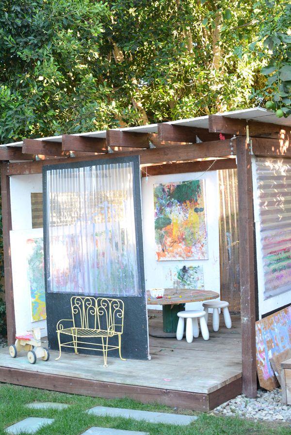 10 Inspiring Art Studios for Kids | Reggio Atelier ... on home ideas for backyard, fountain ideas for backyard, tree ideas for backyard, gardening ideas for backyard, craft ideas for backyard, landscape ideas for backyard, fun ideas for backyard, clip art for backyard,