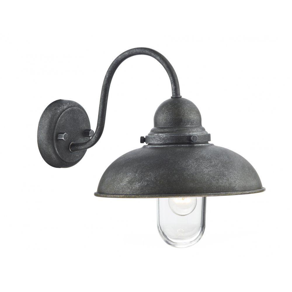 Dar dyn dynamo light outdoor wall light aluminium lighting