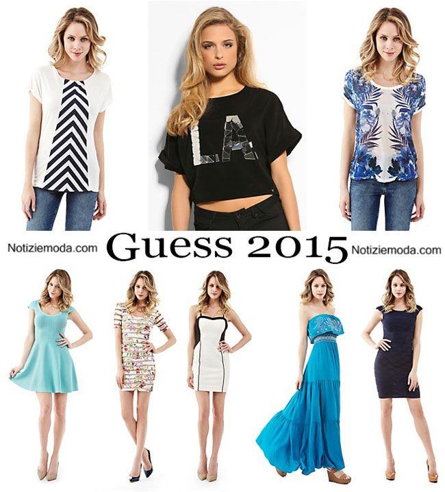 1580178e5f Abiti Guess primavera estate 2015 moda donna | Abbigliamento Moda ...