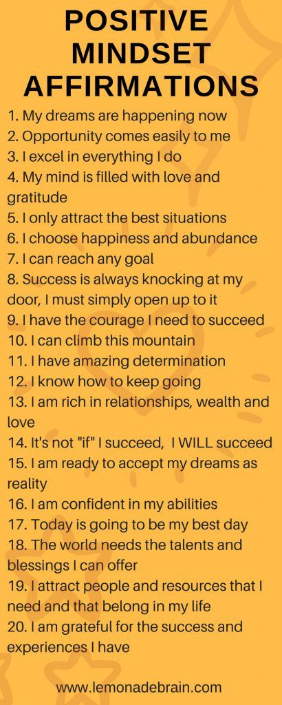 Start The Day Off With Affirmations