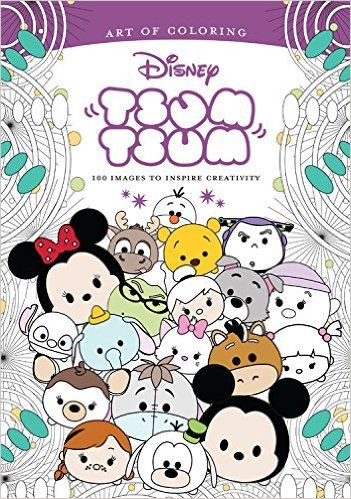 The Art Of Coloring Disney Tsum Book Pre Order