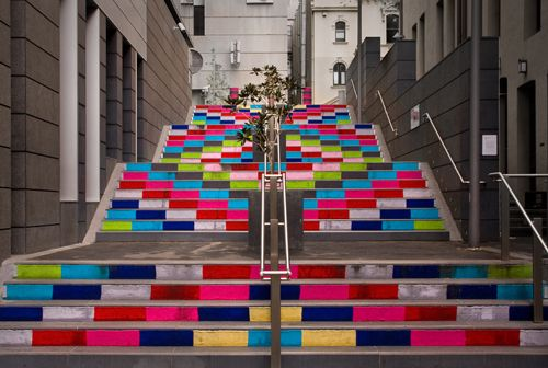 Knitted Stair
