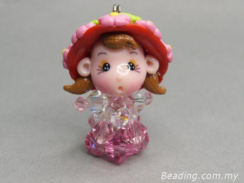 diy-beaded-doll-head-red-hat-little-girl-simple-version.jpg