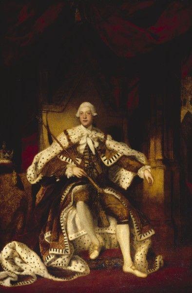 1779 Joshua Reynolds. Portrait of King George III