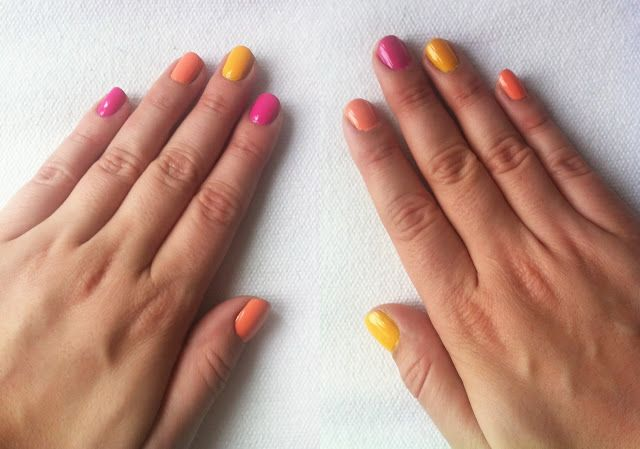Nail Yourself Tip Alternating 3 Colors Cute Simple Nails Hipster Nail Art Hipster Nails