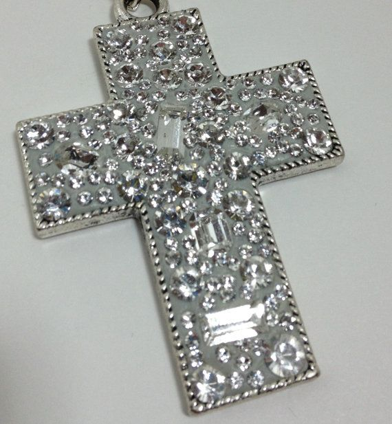 Cowgirl Bling / Inspirational Cross Pendant by CowgirlInspiration, $20.00