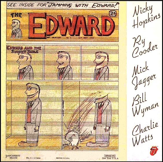 "Jamming With Edward"" (1971, Rolling Stone Records)  Their"