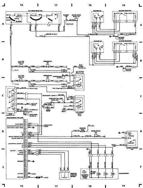 97 Jeep Power Window Wiring Diagram