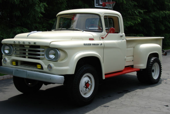 1958 dodge w100 factory 4x4 dually if you like it, you can buy it