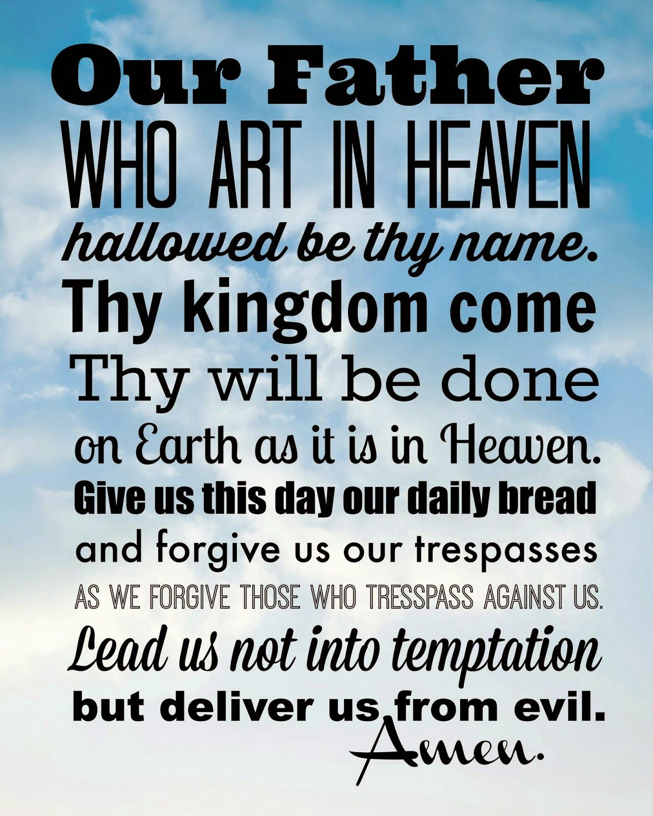 In Which There Are Seven Free Printable Prayers And So