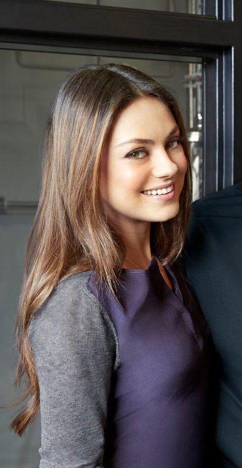 Mila Kunis Love The Hair Color