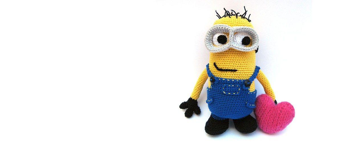 Patrón Amigurumi para tejer un Minion   Amigurumies   Pinterest ...