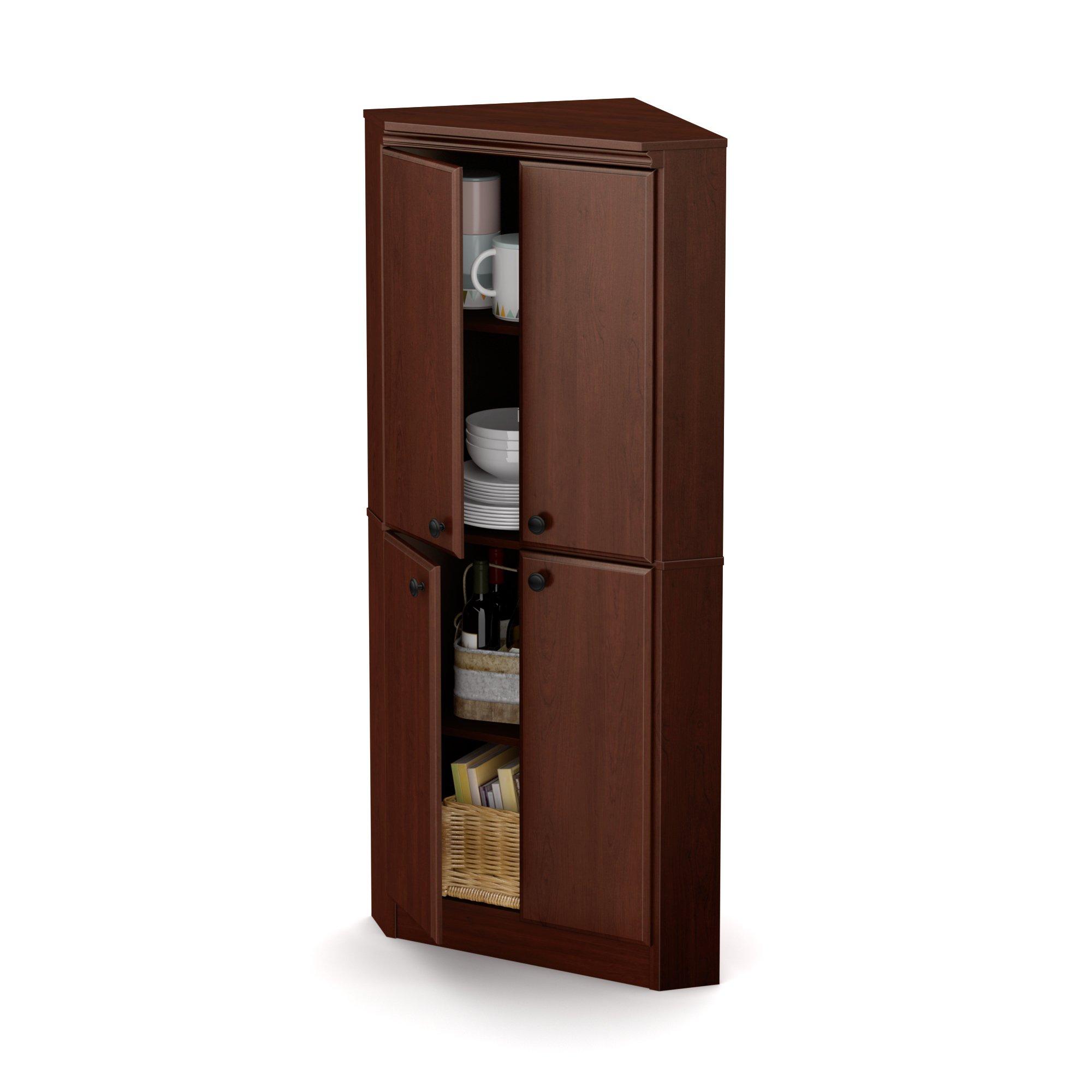 Cherry 4Door Corner Armoire Corner armoire