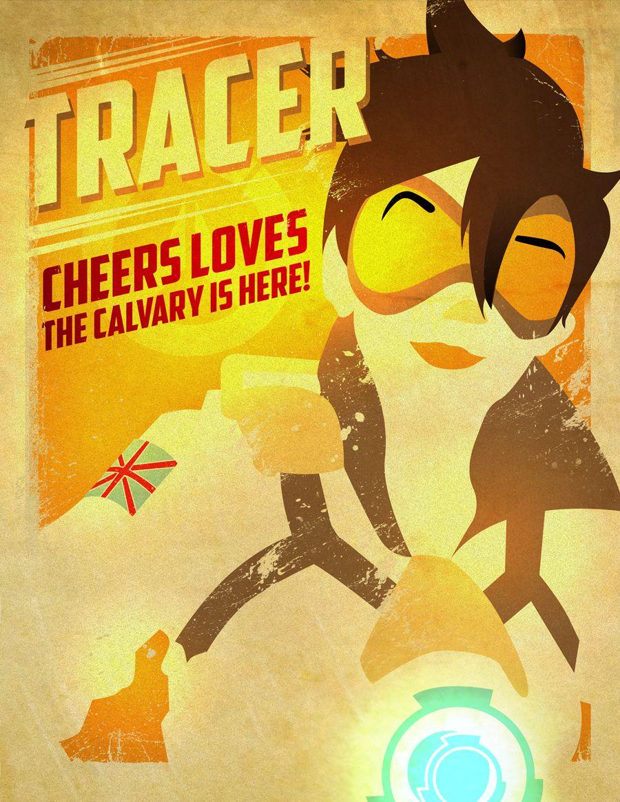 Watching Overwatch • Fan Art: Tracer, Reaper, and Widowmaker by ...