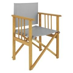 Exceptionnel AFRICA Grey Replacement Canvas Cover For Directors Chair