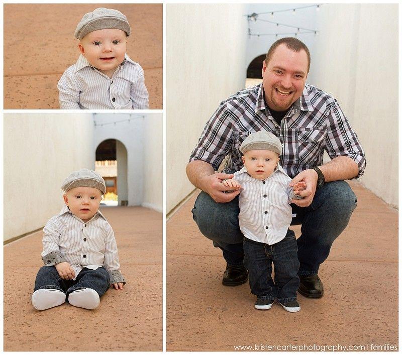 Downtown gilbert az family baby watch me grow kristen carter photography