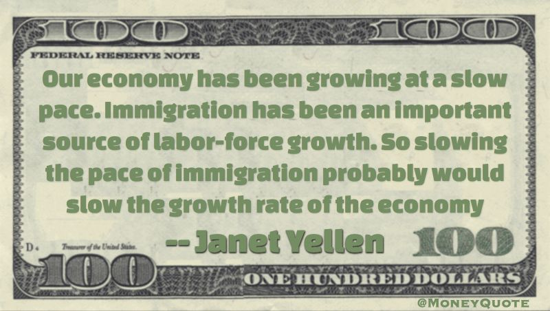 15++ Janet Yellen Quotes