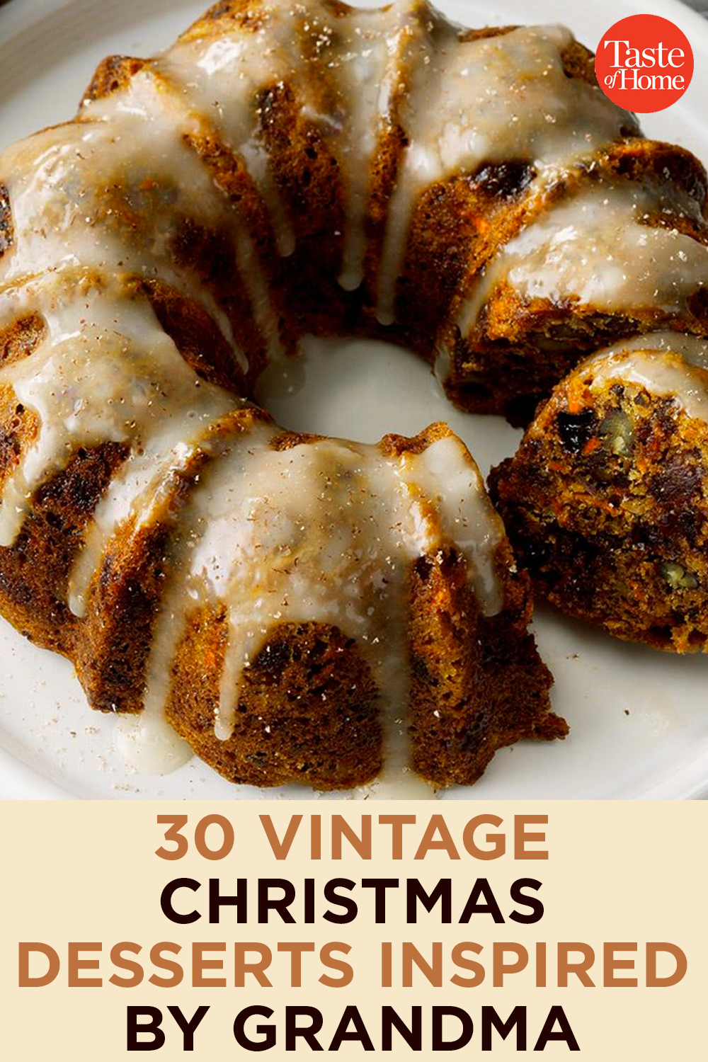 30 Vintage Christmas Desserts Inspired by Grandma