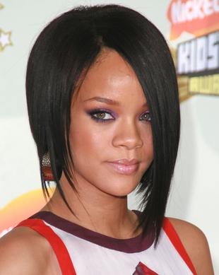 Rihanna Asymmetric Bob Rihanna Long Hairstyles Bob Frisur Coole Frisuren Haarschnitt