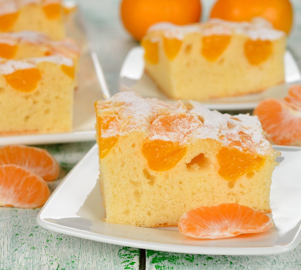 Homemade Mandarin Orange Cake