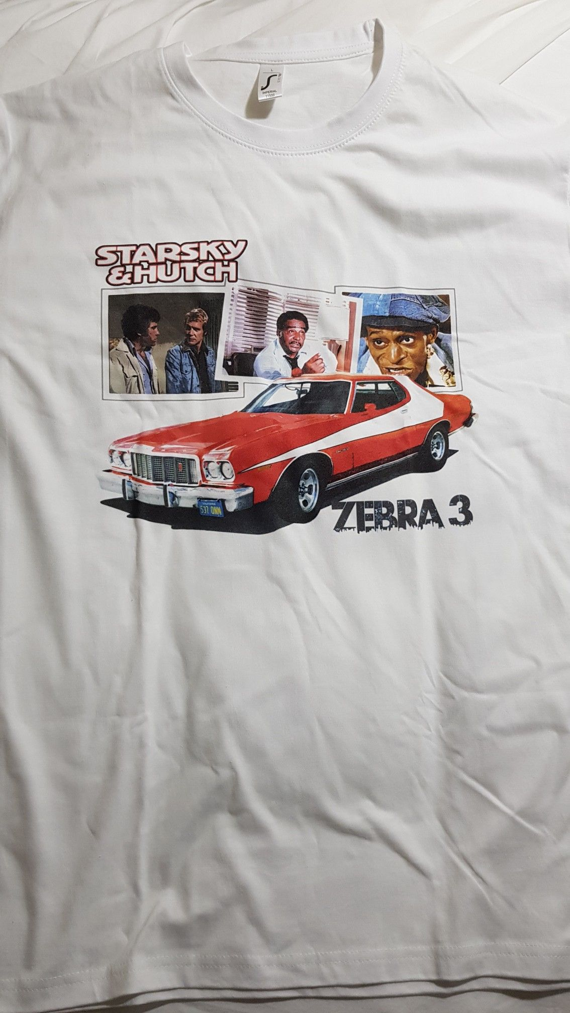 No he s Starsky I m Hutch 20 Years of t shirts