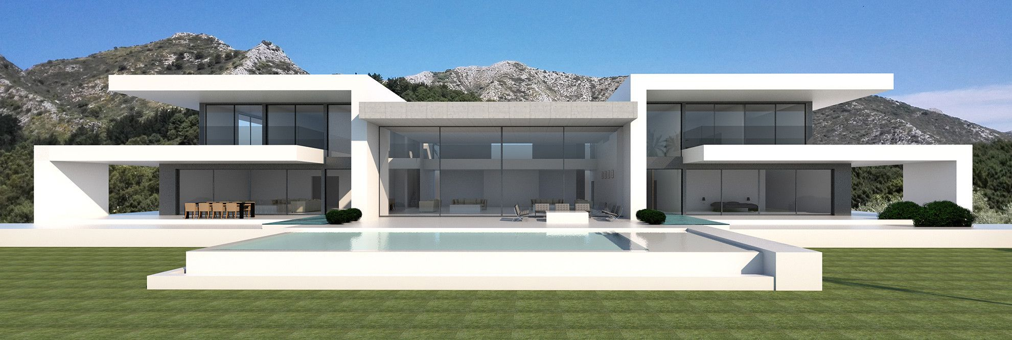 Eagles House Modern Turnkey Villa Modern Villa Design Modern