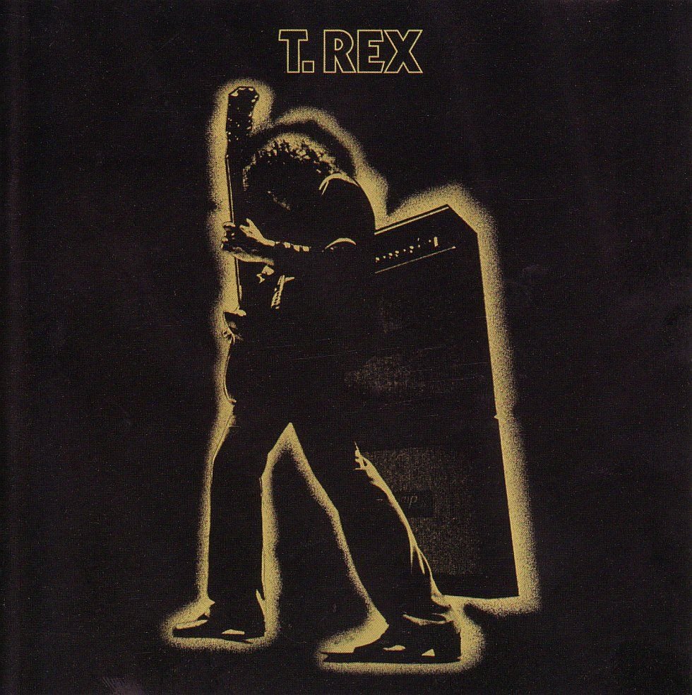 T Rex Electric Warrior Album Cover H I P G N O S I S