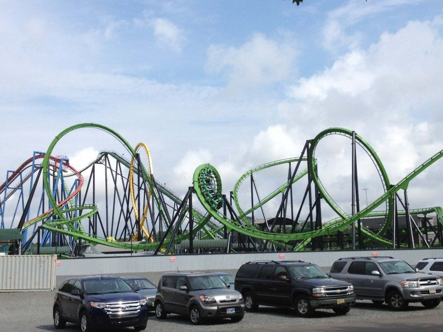 Six Flags Great Adventure Green Lantern Six Flags Great Adventure Green Lantern Greatest Adventure
