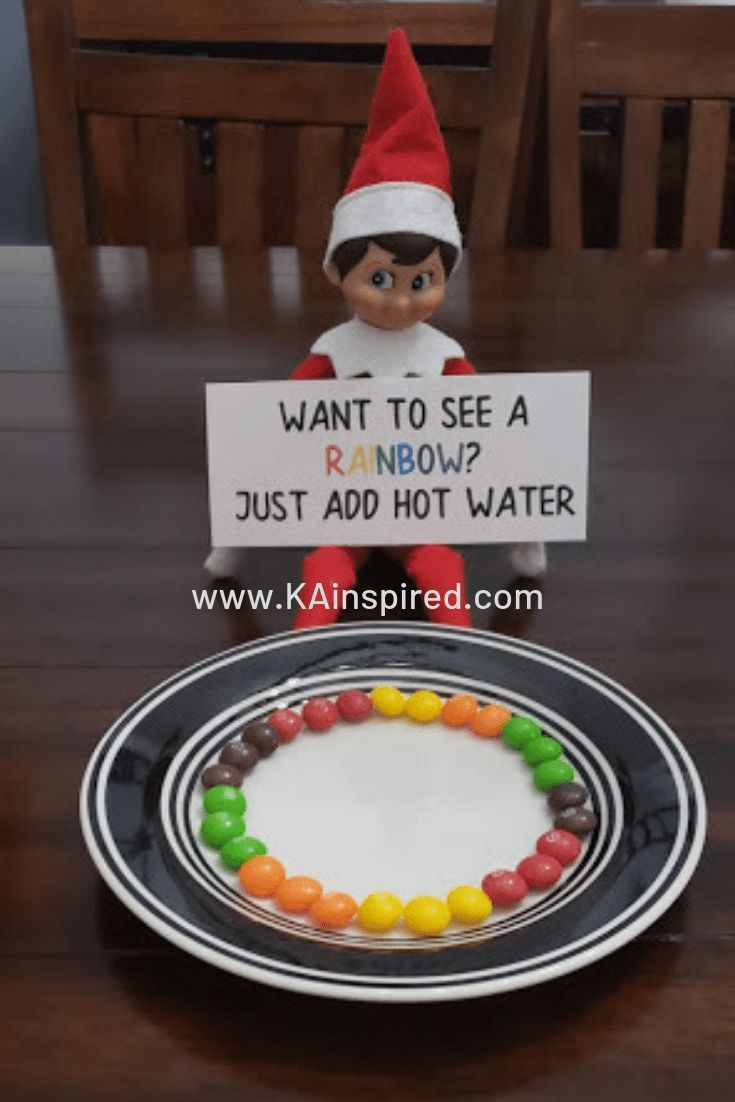 Elf On The Shelf Ideas - KAinspired #elfarrivalideas