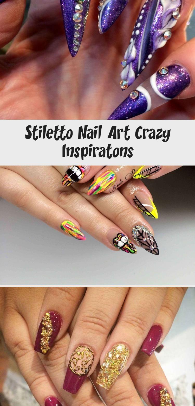 Photo of Stiletto Nail Art Crazy Inspiratons – Nail