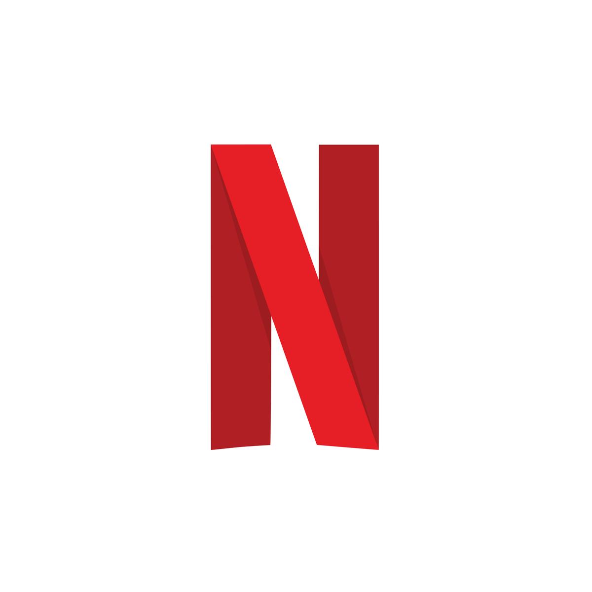 Netflix Logo Svg Letter N Netflix Letter Logo