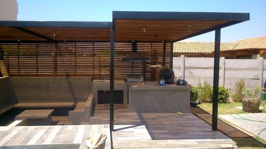 Resultado de imagen para estructura metalicos para for Modelos de techos metalicos para casas