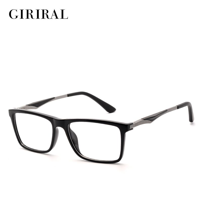b51d4cb94311 TR90 men Glasses frame vintage optical brand myopia designer clear Eyeglasses  frame  YX0140