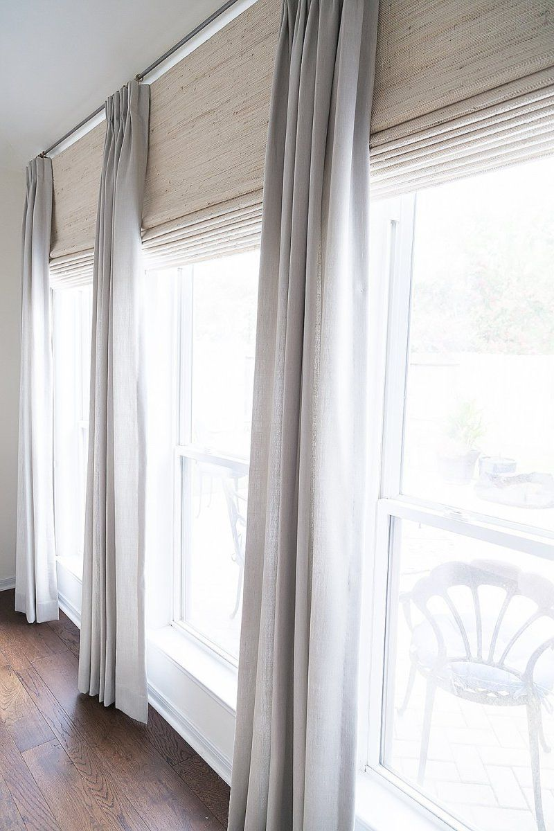 Window Treatment Ideas and Curtain Designs Photos Fixer upper
