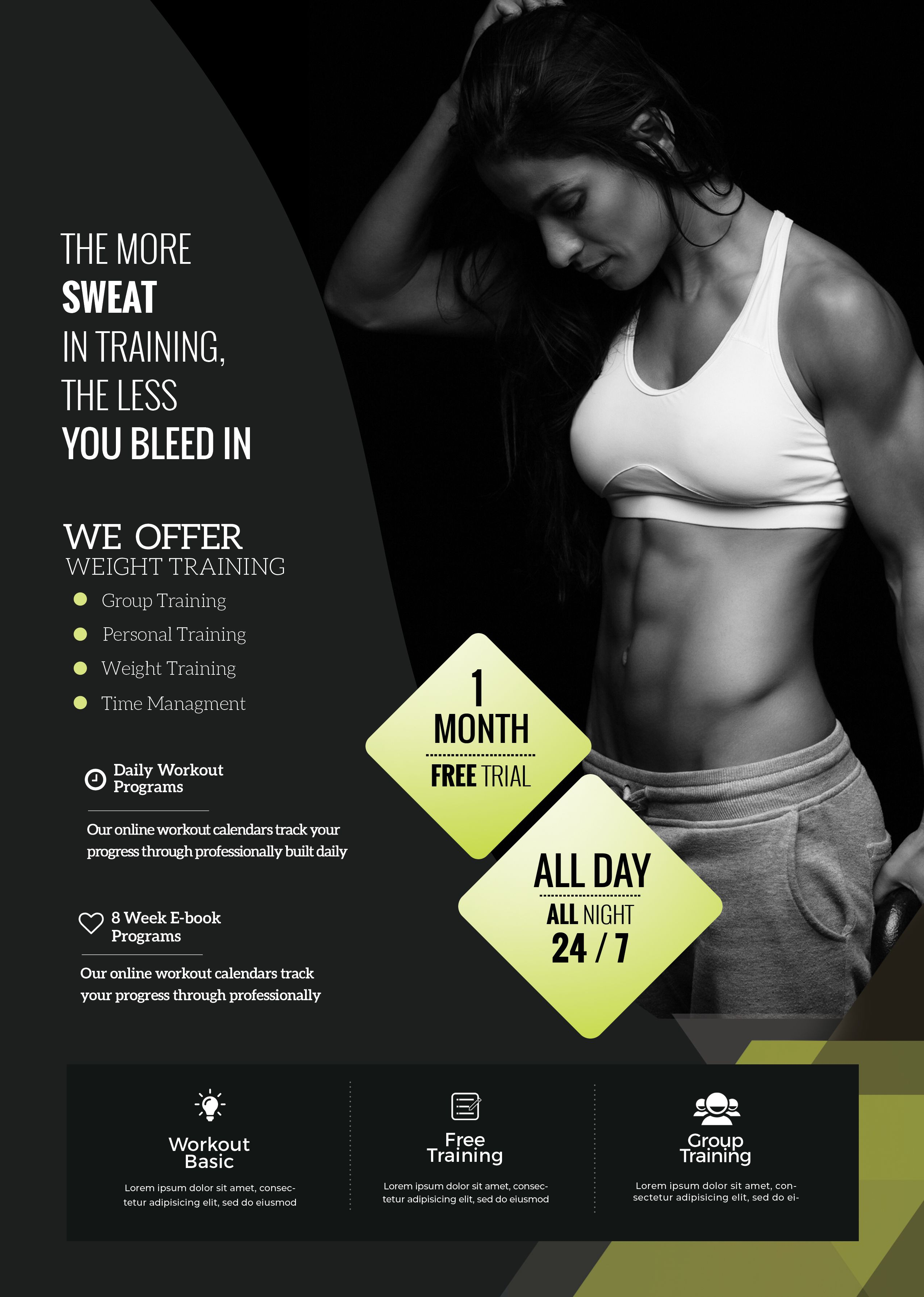 Pin On Free Psd Flyer Templates