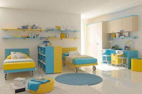 Children S Bedroom Interior Design Good Colors Kids Bedroom