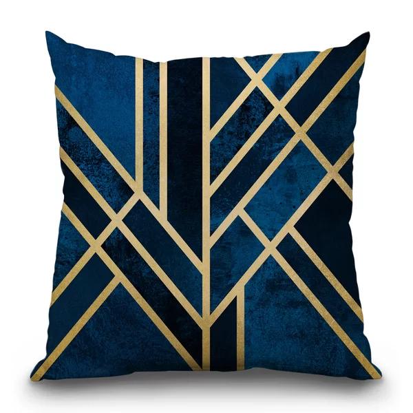 Mercer41 Fuchs Art Deco Throw Pillow