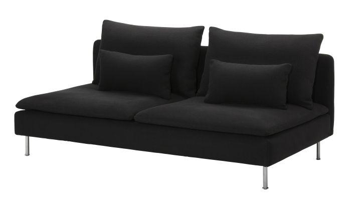 S 214 Derhamn Corner Sofa Repl 246 Sa Black Ikea Pintowin