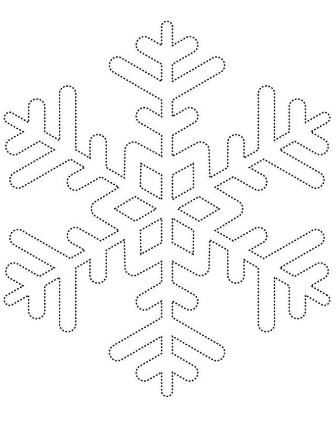Snowflakes Template Printable Gallery - Free Templates For Everyrhing