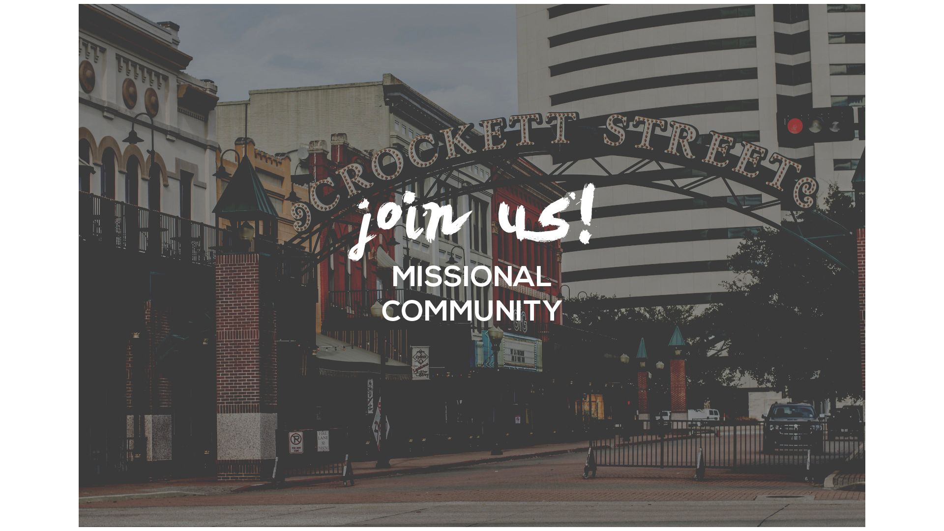 Join a Missional Community