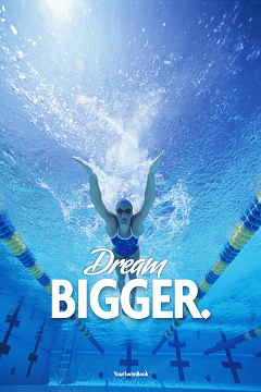 Motivational Swimming Poster 4