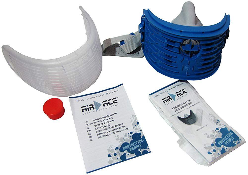 Airace Atemschutzmaske Mit Wechselfilter 48 Von 5 Sternen