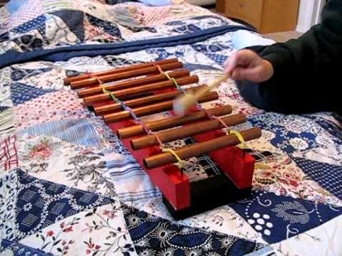 Copper Pipe Glockenspiel | Neat-o    must try! | Music