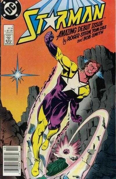 Chris is on Infinite Earths: Starman #1 (1988)
