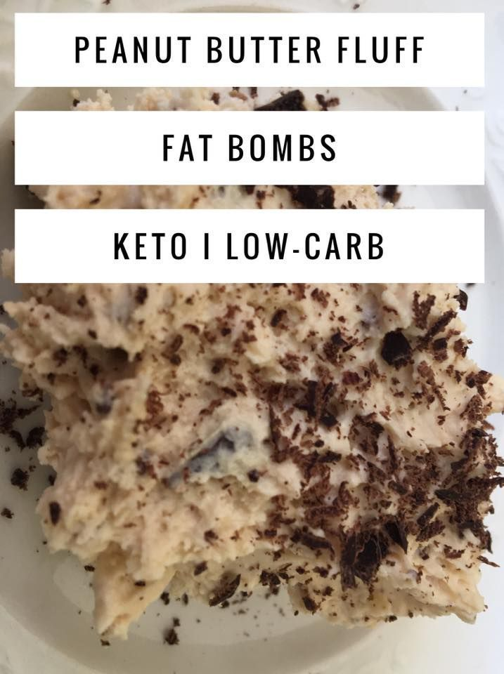 Peanut Butter Fluff Fat Bombs - these sweet treats are an amazing dessert while on Keto or Low Carb diet.  Make these peanut butter goodies when you get a sweet tooth! #peanutbutter #ketodiet #lowcarbdiet #kaseytrenum